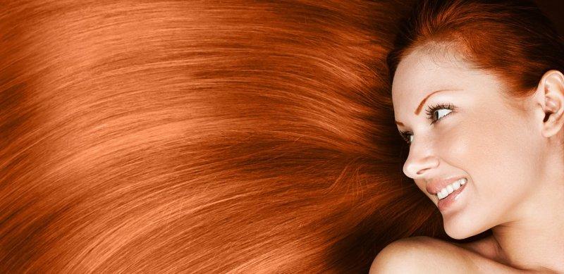 So werden die Haare Schön und glänzend